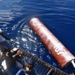 Kapal Pengawas Orca 04 Tertibkan 21 Rumpon Ilegal Filipina