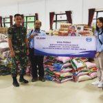 WIKA Salurkan Bantuan untuk Bencana Banjir di Kabupaten Konawe Utara, Sulawesi Tenggara
