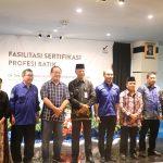 Bekraf Fasilitasi Sertifikasi Profesi Batik di Tanjungpinang, Provinsi Kepri