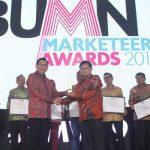 """ANTAM Raih Penghargaan """"The Most Promising Company in Entrepreneural SOE's"""" dalam Ajang BUMN Marketeers Award 2019"""