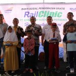 Bakti Sosial Pengobatan Gratis Rail Clinic Hadir Layani Masyarakat Terisi