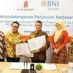 Gandeng PT Cipta Pilar Persada, BNI Syariah Targetkan Potensi Bisnis Rp 31,1 M