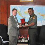 Kasum TNI Terima Kunjungan Kehormatan Asisten Menhan AS