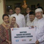 3 BUMN Sinergi Bangun Sarana Air Bersih di Ponpes Buntet