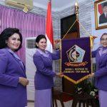 Ny. Dilla Rochadi Resmi Menjabat Ketua IKKT PWA Cabang 9 Koopssus TNI