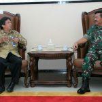 Panglima TNI Terima Audiensi 15 Profesor UNS
