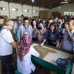 Peserta SMN Sulawesi Kunjungi PTPN XI Pabrik Kopi Banaran dan Museum Kopi