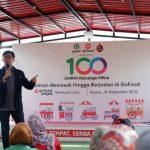 Berikan Pelatihan Wirausaha kepada Keluarga Mitra, Gojek Siap Cetak UMKM Baru