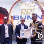 Perhutani Raih Penghargaan RRI BUMN Award 2019