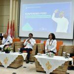 Gelar Jumpa Pers Perdana, Menteri Johnny Paparkan Fokus Kerja 5 Tahun ke Depan