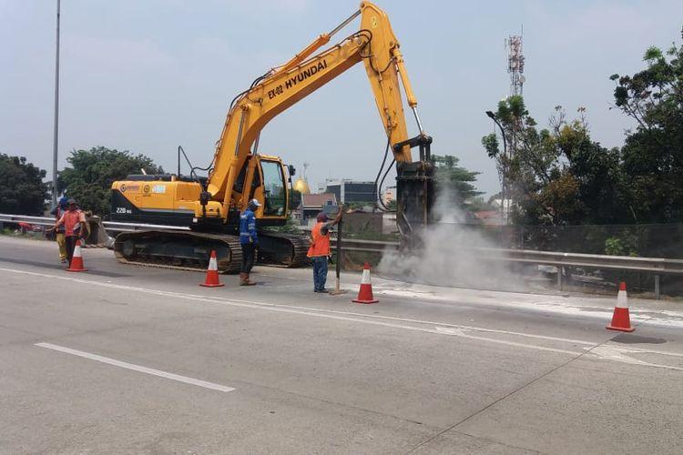 Jalan Tol Jagorawi Terus Dilakukan Pemeliharaan, Ini Adalah Pemeliharaan Pekerjaan di Minggu ke Lima 1