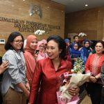 Usai Dilantik Presiden, Menteri Bintang Puspayoga Pimpin Rapat Perdana di Kemen PPPA