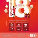 AirAsia Peringati 18 Tahun Mengudara dengan Promo Hemat Mulai Rp188.000