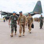 Satgas TNI Konga XXXIX-B RDB MONUSCO Tiba di Daerah Misi