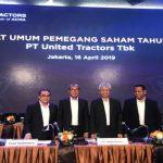 United Tractors Membukukan Laba Bersih Triwulan Ketiga Tahun 2019 Sebesar Rp 8,6 Triliun
