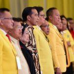 Buka Munas X Partai Golkar, Presiden Tekankan Pentingnya Stabilitas Politik di Indonesia