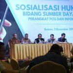 Sosialisasikan Aturan IMEI, Kominfo Sambangi Kota Pelabuhan Batam