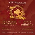 Aston Sentul Menyambut Tahun Baru Tikus Logam Dengan Menghadirkan Promo Pay 1 For 2