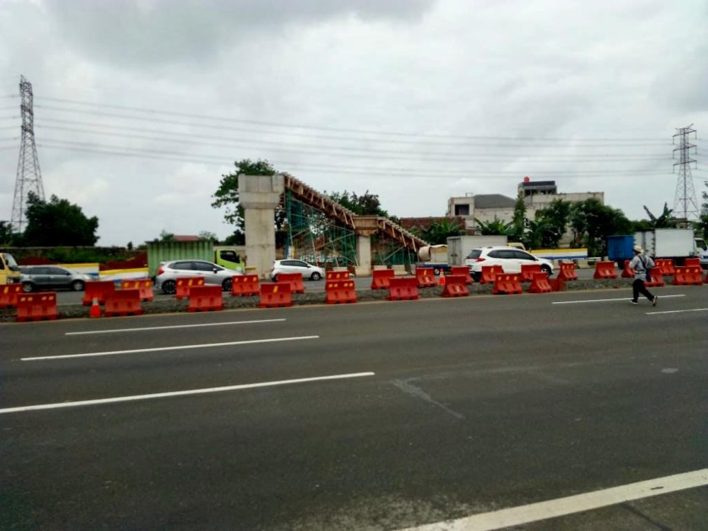 Jasa Marga Lakukan Pelaksanaan Erection Girder JPO KM 11 plus 500 Jalan Tol Jakarta-Tangerang, Pengguna Jalan Diimbau Antisipasi Perjalanan 1
