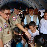 Mensos Kunjungi Lokasi Terdampak Banjir Jakarta dan Bekasi