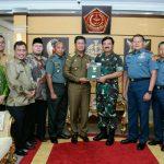 TNI Terima Sertifikat Hibah Lahan Pembangunan Mako Kogabwilhan I
