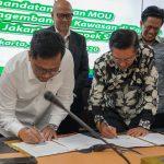 Jasa Marga Tandatangani MoU Pengembangan Kawasan di Koridor Jalan Tol Jakarta-Cikampek Selatan
