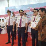 Batik Air Menyambut dan Apresiasi 18 Awak Pesawat Penerbangan Misi Kemanusiaan Rute Soekarno-Hatta, Tangerang - Wuhan - Batam