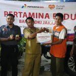 Jakarta Kembali Banjir, Pertagas Tanggap Salurkan Bantuan