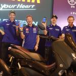 Launching Aplikasi Y-Connect dan Harga All New NMAX Connected/ABS Diumumkan Bersama Valentino Rossi dan Maverick Vinales