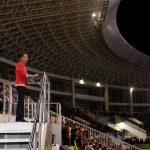Resmikan Renovasi Stadion Manahan, Presiden Berharap Siap Gelar Piala Dunia FIFA U20