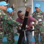 Satgas TNI Konga XXXIX-B/RDB MONUSCO Terima Kunjungan COE Bukavu Di Republik Demokratik Kongo