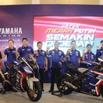 Valentino Rossi dan Maverick Vinales Semangati Pengukuhan Tim Yamaha Racing Indonesia