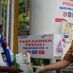 Dari Jakarta hingga Jayapura, Pertamina Perluas Bantuan Masker hingga Sembako