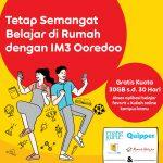 Indosat Ooredoo Berikan Kuota Gratis Selama 30 Hari untuk Belajar di Rumah Melalui Portal Belajar Online di 60 Universitas dan 4 Platform Digital