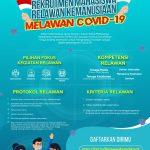 Kemendikbud Mengundang Mahasiswa Tingkat Akhir Bidang Kesehatan Jadi Relawan Cegah Sebaran Covid-19