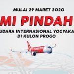 Penerbangan Airasia di Yogyakarta Pindah ke Yogyakarta International Airport, Kulon Progo, Mulai 29 Maret 2020