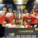 Turnamen Call of Duty: Mobile – Garena Major Series Season 2 Selesai Digelar, Tim Bigetron Duty Bawa Pulang Piala Juara
