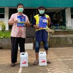 Antisipasi Penularan COVID-19, Pertamina Foundation Salurkan Hand Sanitizer
