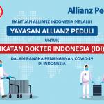 Bantu Tenaga Medis Indonesia Tangani COVID-19, Allianz Indonesia Kumpulkan Donasi & Berikan Bantuan untuk Pembelian Vitamin dan APD