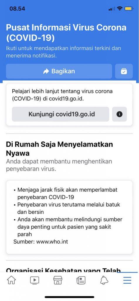 Menjaga Indonesia Tetap Aman dan Terinformasi tentang Virus Corona 2