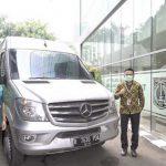 Mercedes-Benz Distribution Indonesia Memberikan Dukungan Pelayanan Kesehatan di Jakarta dengan Menyediakan Sprinter Van
