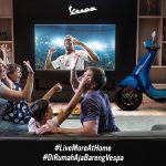 Tetap Semangat Walau #DirumahAja, PT Piaggio Indonesia Hadirkan Kompetisi Konten Digital Live More at Home