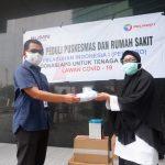 Pelindo 1 Salurkan Bantuan APD untuk Tenaga Medis di Rumah Sakit dan Puskesmas