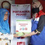 Pertamina Salurkan Bantuan Paket Sembako Siaga Pangan Covid-19 Menjelang Bulan Ramadan 1441H