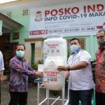 Pertamina Serahkan Sarana Cuci Tangan ke Pemkot Makassar untuk Penanganan Covid-19