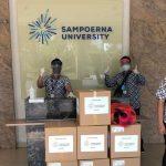 Sampoerna University Donasikan Face Shield Mask untuk RS di Jakarta