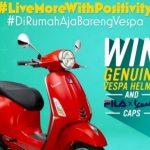 Ajakan Live More With Positivity dari PT Piaggio Indonesia Semasa DiRumahAja