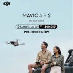 Bersiaplah Untuk Meningkatkan Kreativitas Dengan DJI Mavic Air 2 Bar
