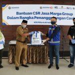 Jasa Marga Group Salurkan Lebih dari 7.200 Paket Sembako Dalam Rangka Penanggulangan Covid-19 Ke Wilayah DKI Jakarta dan Tangerang