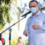 Menteri Edhy Komitmen Kembangkan Rumput Laut di Kepulauan Seribu